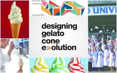 designing gelato cone