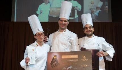 Davide Comaschi vincitore della selezione per il World Chocolate Master