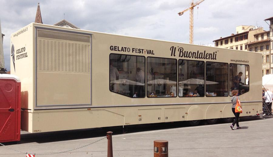 laboratorio mobile di gelateria buontalenti