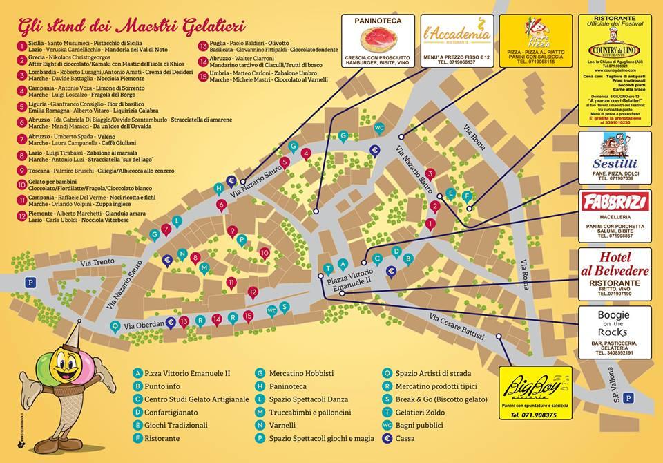 mappa gelato festival agugliano