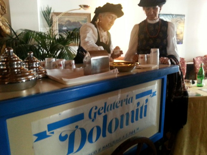 carrettino gelato dolomiti day