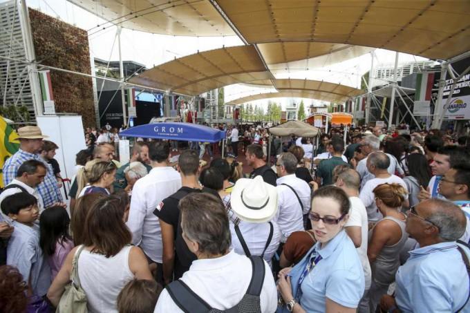 folla festa del gelato expo 2015