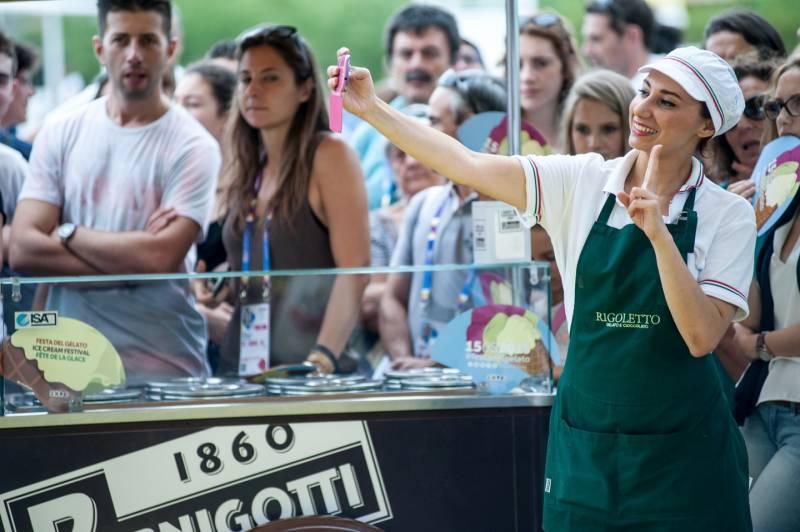 festa del gelato expo 2015 rigoletto pernigotti
