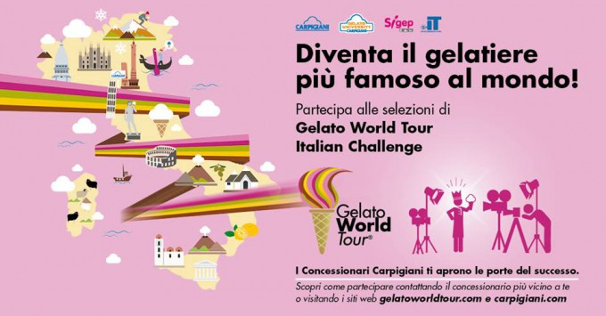 gelato world tour italian challenge